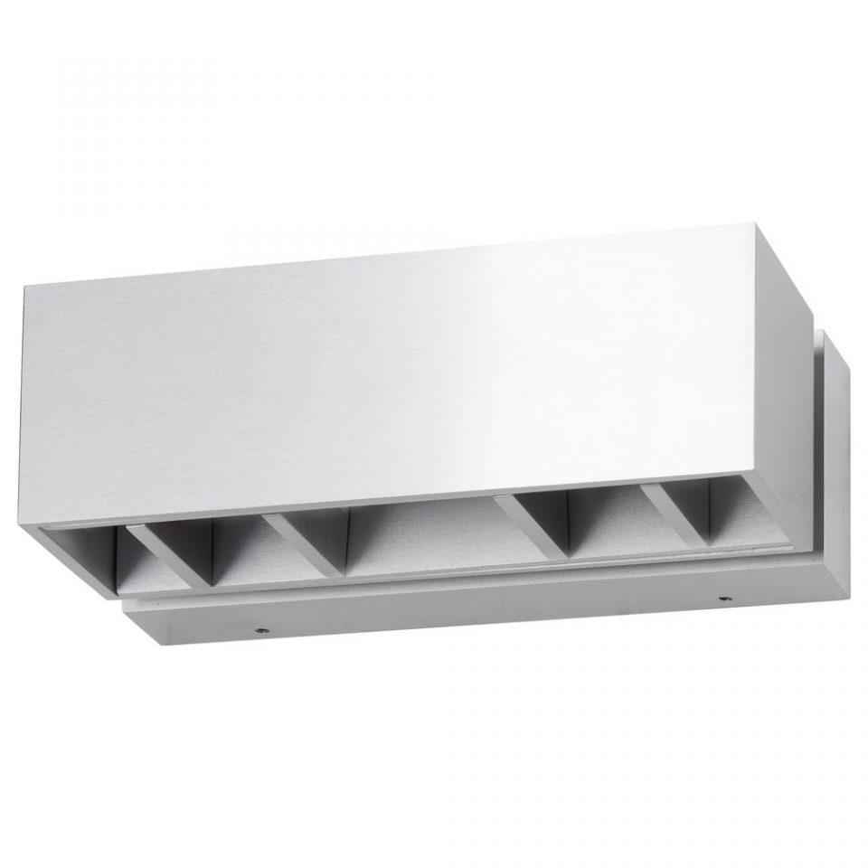 Freisteller einer Aluminium Wandleuchte verstellbar
